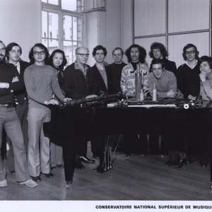 Paris National Conservatory of Music, Olivier Messiaen Composer Class (1972)
