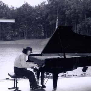 Solo concert at 'Church on the water' Japan, Hokkaido, Tomamu (1993)